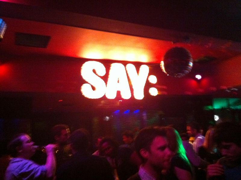 SAY_London party